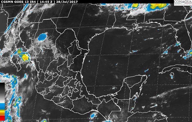 Para hoy, se esperan tormentas intensas en sitios de Sonora; tormentas muy fuertes en zonas de Chihuahua, Durango, Jalisco y Michoacán, y tormentas fuertes en regiones de Sinaloa, Zacatecas, Nayarit, ...