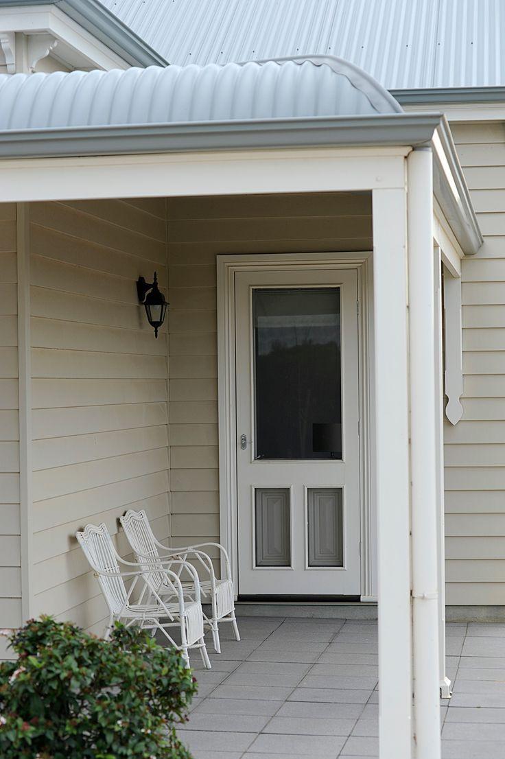 Edwardian Homes Melbourne - Entry Porch #Edwardian #Architecture #Home #Design #Exterior #Porch