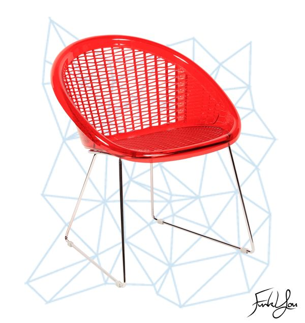 The St Tropez Chair - Red. www.funkyou.com.au