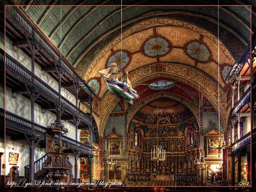 Saint Jean de Luz - Eglise où s'est marié Louis XIV - 16.6.1661