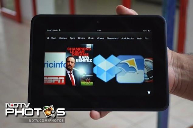 Kindle Fire HD review   NDTV Gadgets
