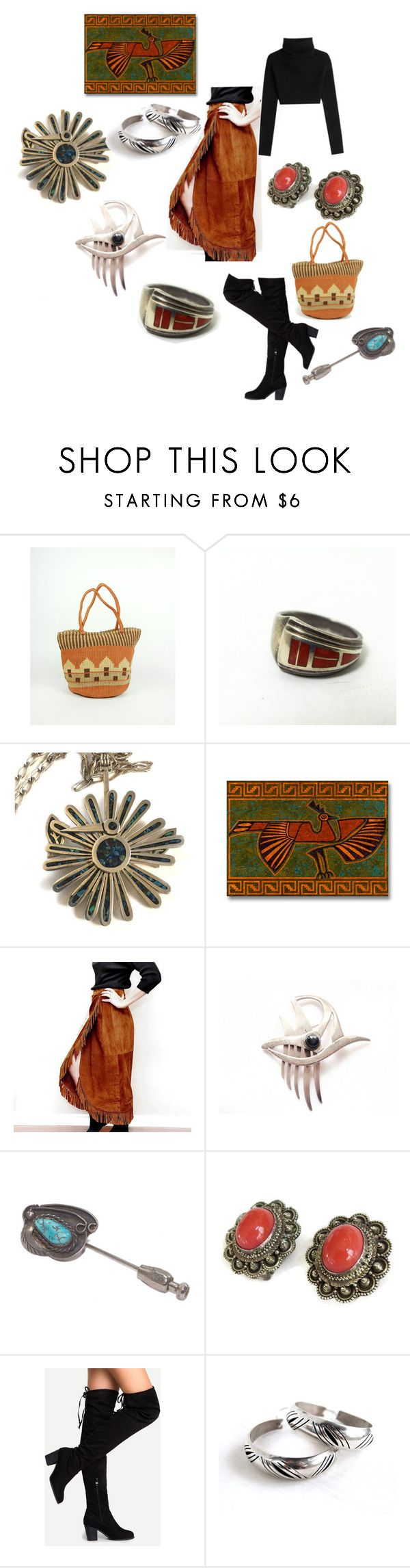 """""""South by Southwest"""" by patack ❤ liked on Polyvore featuring Valentino and vintage"""