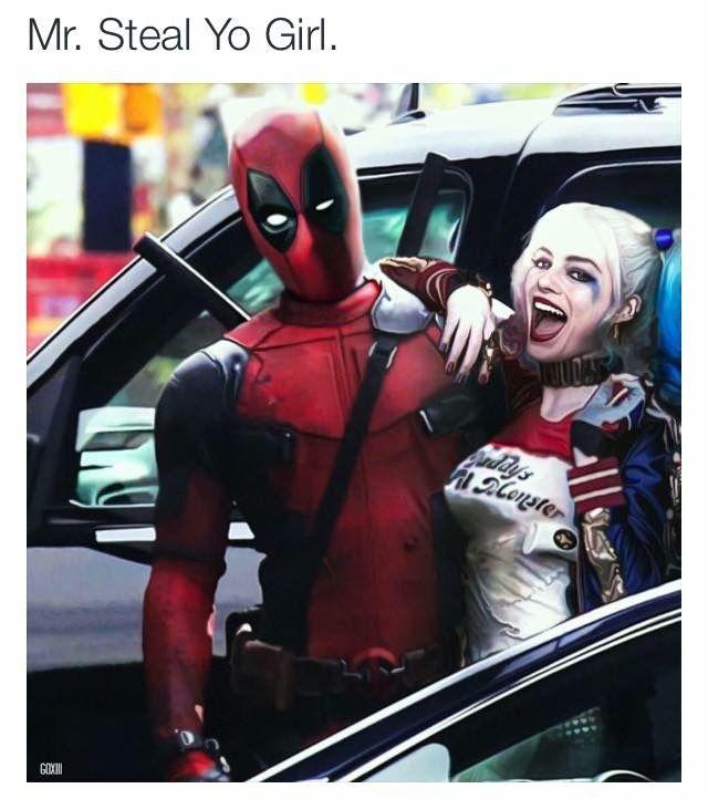 Deadpool and harley quinn deadpool pinterest the - Deadpool harley quinn ...