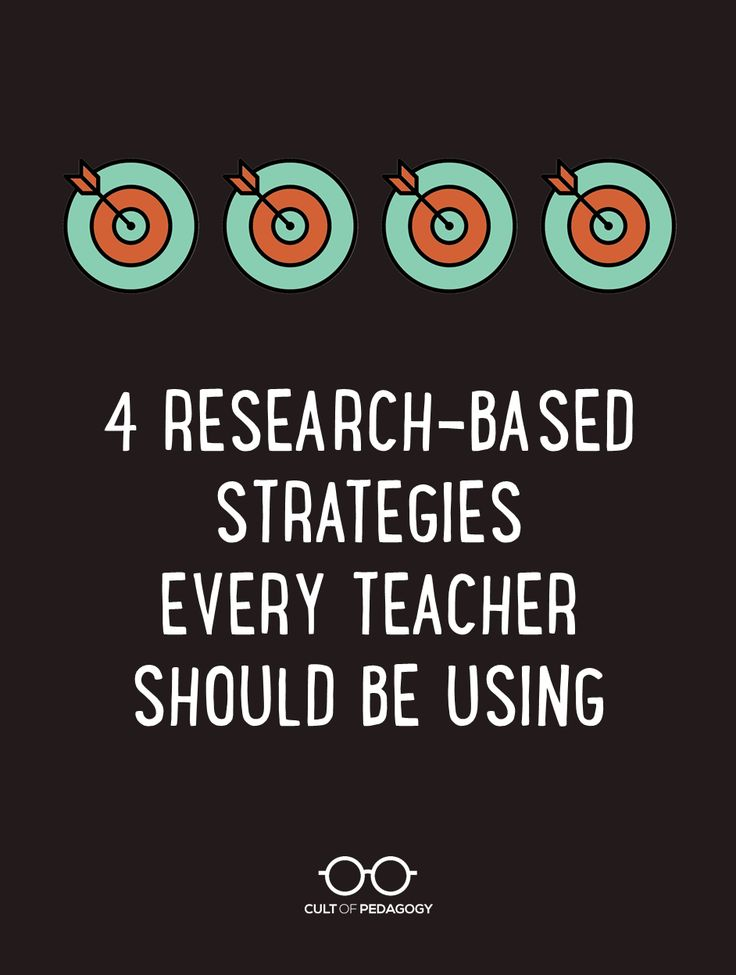 Four Research-Based Strategies Every Teacher Should be Using