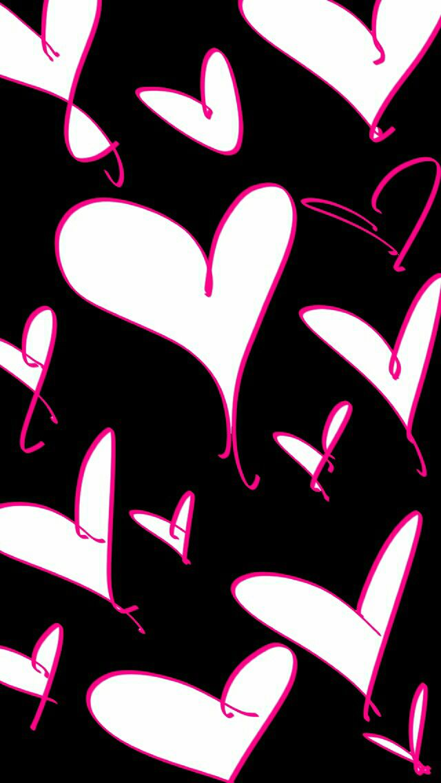 valentines day text art iphone