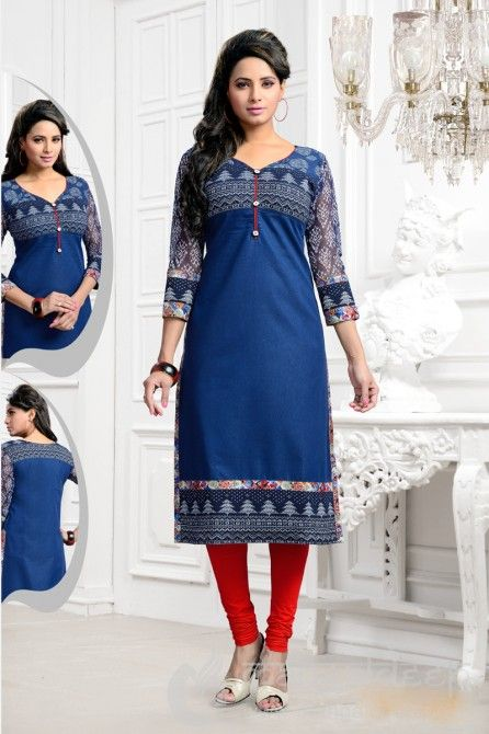 http://www.mangaldeep.co.in/latest-kurties/awesome-blue-ready-made-party-wear-kurti-5357 For further inquiry whatsapp or call at +919377222211
