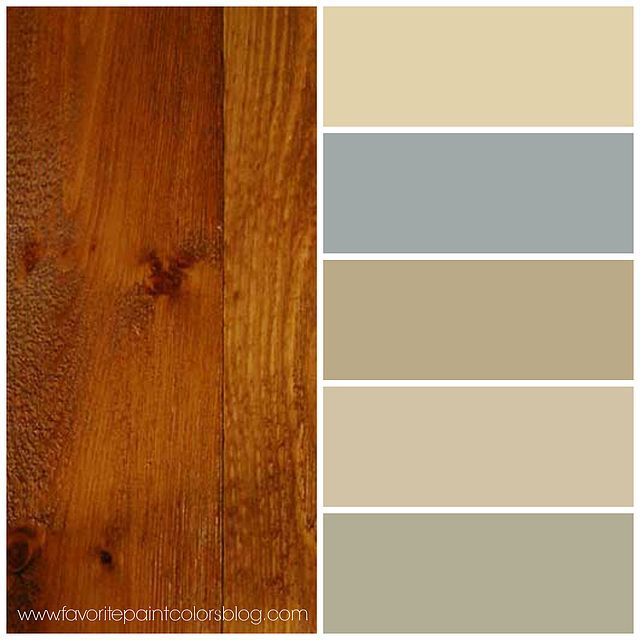 One of the most frequently asked questions I receive is about paint that coordinates with wood. I had a reader contact me the other day, wondering what to do about her kitchen cabinets and wall so tha