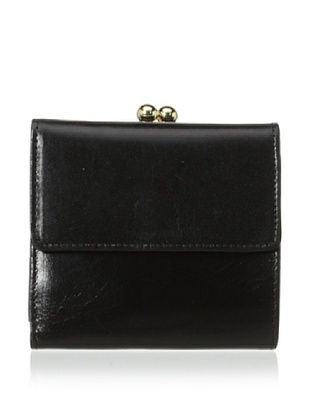 54% OFF Tusk Women's Framed Indexer Wallet, Black
