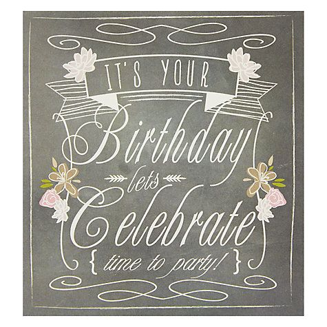 39 best birthday cards images on pinterest happy birthday buy caroline gardner time to party birthday card online at johnlewis bookmarktalkfo Image collections