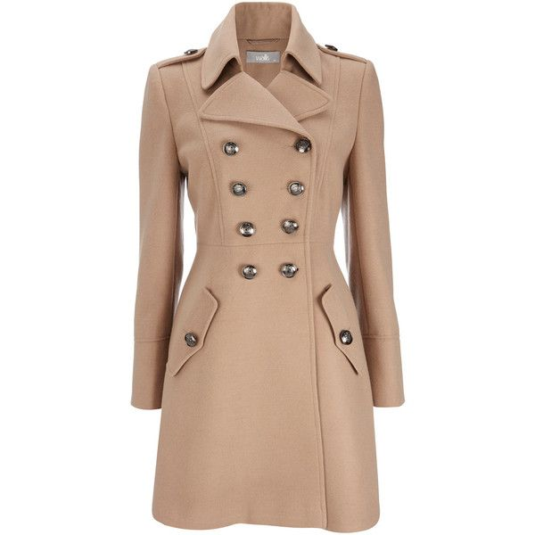 Camel Military Coat ($115) found on PolyvoreMilitary Coats, Camel Military, Double Breast, Military Style, Military Double, Camel Coat, Trench Coats, Winter Coats, Breast Coats