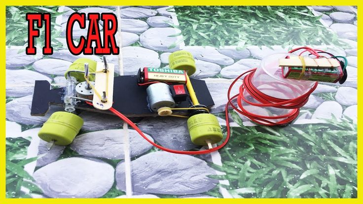 How to make a F1 Car - With Remote Controlled