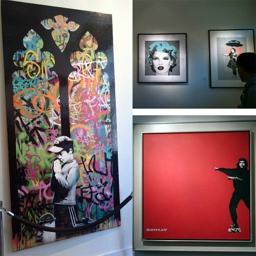 Banksy | Forgive us our tresspassing | Kate Moss | Girl w/ umbrella | Che