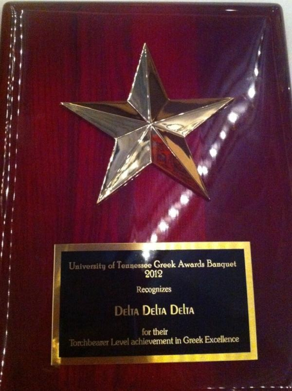 Delta Sigma, Tennessee, received the Torchbearer Award.