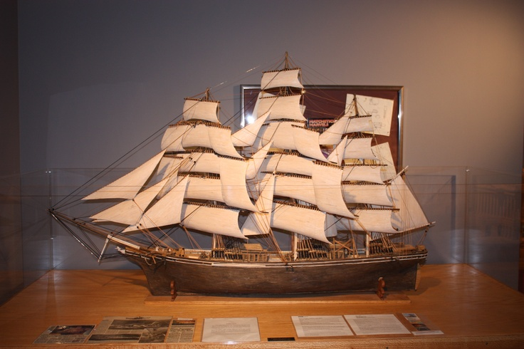 Matchstick model of the Cutty Sark clipper ship made by ...