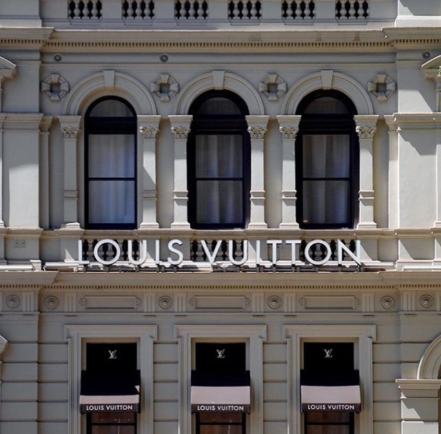 """@oh_yes_melbourne on Instagram: """"My passion is capturing the heritage buildings in  #Melbourne This is #louisvuitton at the corner…"""""""