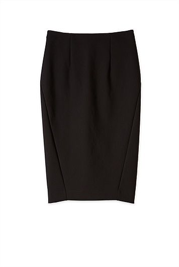 Technical Pencil Skirt