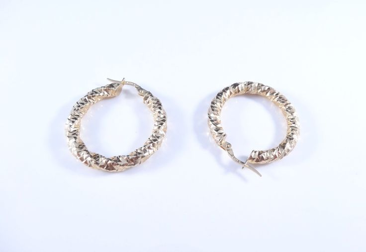 $265 14K Gold Earrings, info@bijuterie-online.ro.