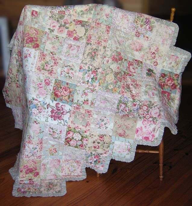 Quilt Patterns With Floral Fabric : Best 20+ Vintage quilts patterns ideas on Pinterest Vintage quilts, Pretty star and Scrap ...