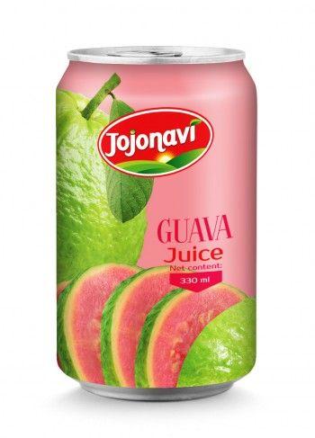 330ml_Wholesale_Guava_Juice_Aluminium_can