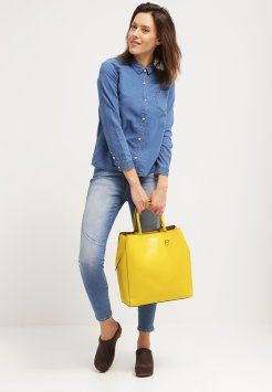 Banana Republic - Handtasche - bright celery #handtasche #gelb
