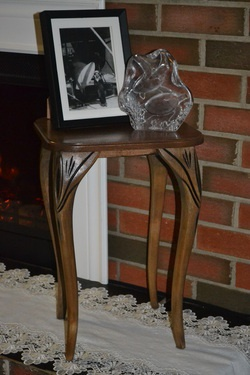 Plant Stand from repurposed legs.