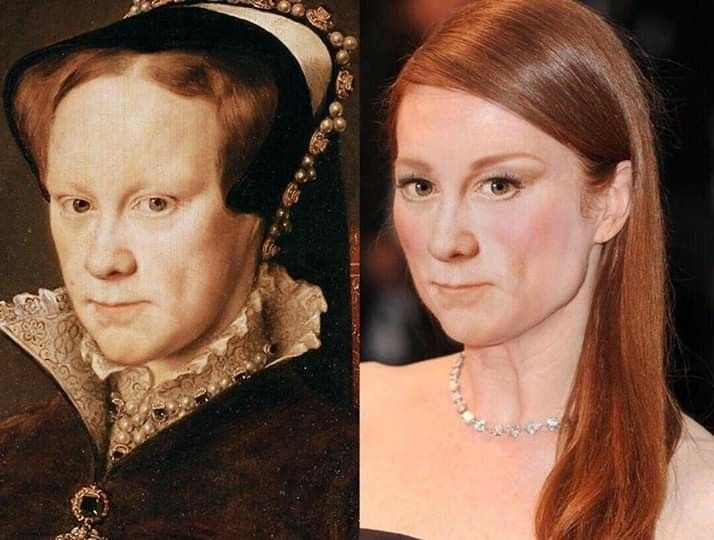 What Mary Tudor Would Look Like Today Tudor History Tudor