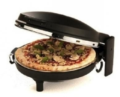 We try: The Pizza Maker: Make traditional Italian-style pizzas at home in as little as 5 minutes!