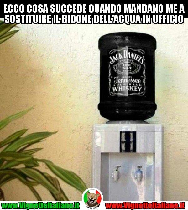 #vignetteitaliane.it #vignette #divertenti #italiane #funny #lol #immagini #pics #whiskey #whisky #jackdaniels