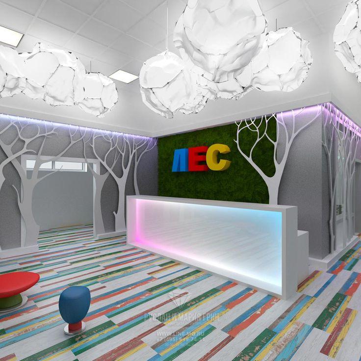 Фото интерьера детского развлекательного центра