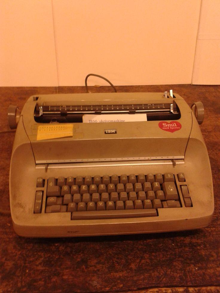 Skrivemaskine IBM