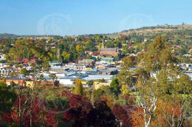 CBD of Armidale NSW
