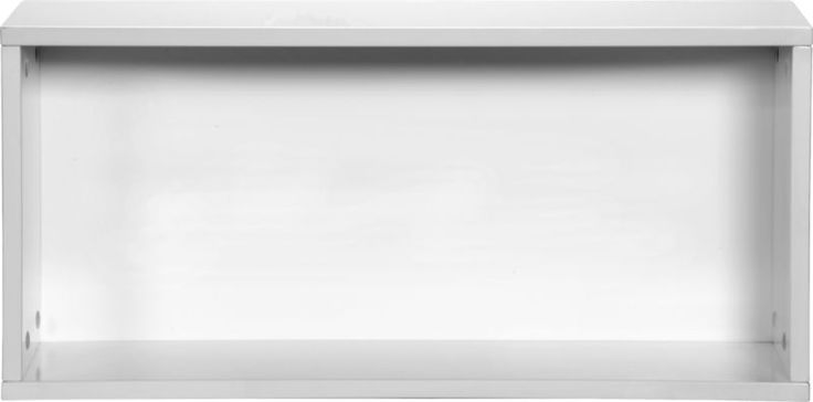 """hyde white 30"""" open wall mounted cabinet  