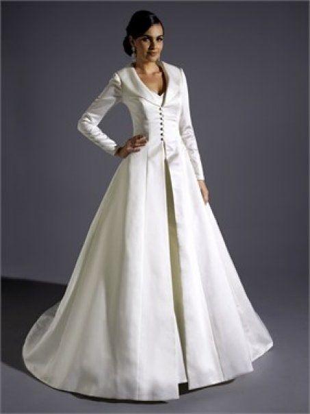 wedding coatdress - Google Search