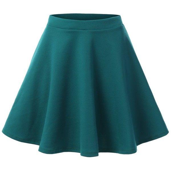j tomson womens basic skater skirt clothes