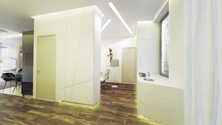 Luxury apartment renovation- entrance-Budapest, Hungary