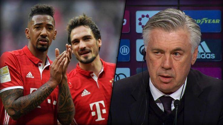 Die Bayern gewinnen souverän mit 3:0 gegen Eintracht Frankfurt.