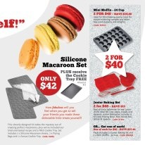 #macaroons great idea for xmas with  the chefs toolbox only $42.00 buy online at  www,dorothywilliams.thechefstoolbox.net