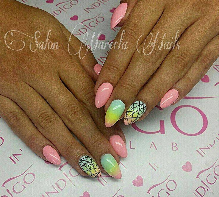 The 8 best indigo images on Pinterest | Indigo nails, Nailart and ...