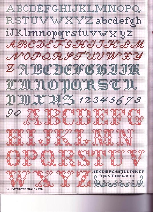 Gallery.ru / Фото #12 - Encyclopedie des Alphabets - Orlanda