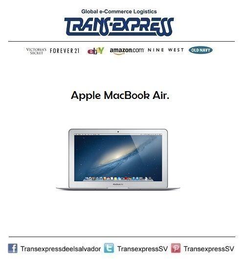 Nada como una Apple en casa.  http://amzn.com/B00746YHV6 Costo del artículo puesto en El Salvador $1195.61