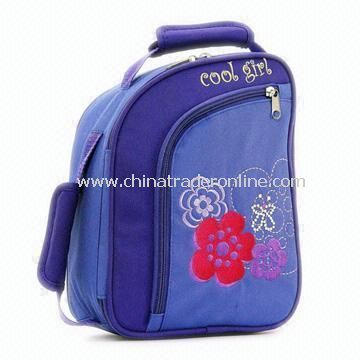 Childrens Lunch Bag Made of 600D Nylon from China  Like this shape and color