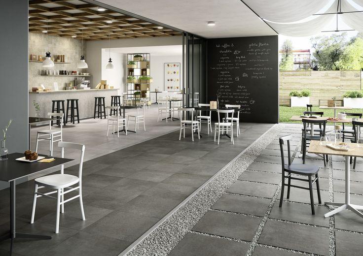 Marazzi #Tailor Rt-Grey 60x60 cm DCLZ #Feinsteinzeug #Steinoptik - küche fliesen boden