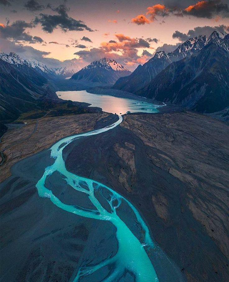 "New Zealand ""Mt Cook National Park"""