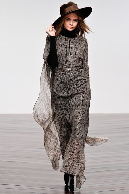 Boho Chic Clothing for fall 2013 | Issa Fall/Winter 2013 At London Fashion Week - A Bohemian Collection ...