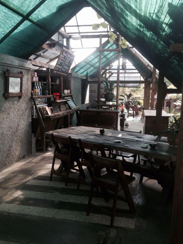 Greenhouse Cafe at Kampung Lumbung