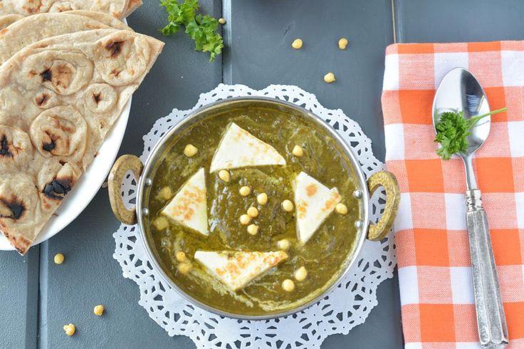 Palak Paneer in slow cooker or crockpot