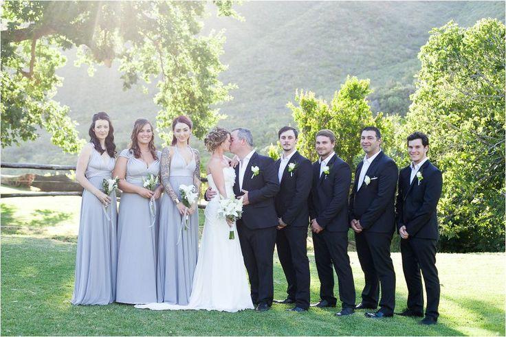 Bridal Party Wedding Couple Shoot | Alexandra Graham Photography