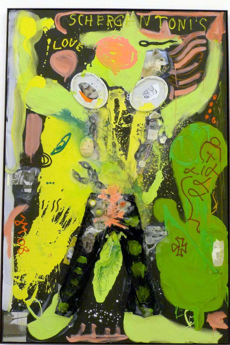 #ARTIST Jonathan Meese, Gralstreibstoffi BOHRTURMBABYBREI ist der persönliche ...