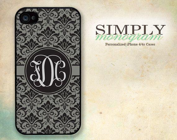 iPhone 4 Case iPhone 4s Case iPhone 5 Case by simplymonogram, $16.99