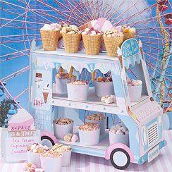 Ice Cream Van Stand | Asda Party